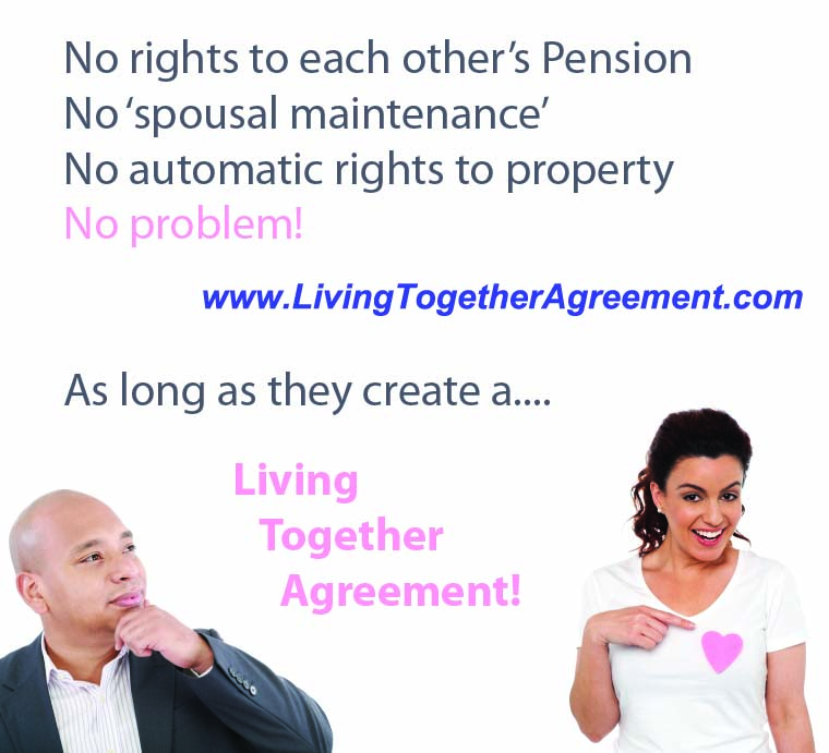 Living Together Agreement Life Plan Premium Pack Best Way To