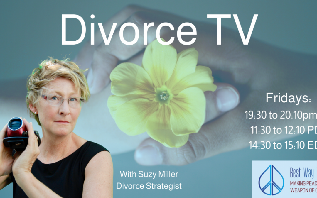 Divorce TV Show – Getting Rid of Financial Fears, The Offer on the Table & Meditation with Bazookas